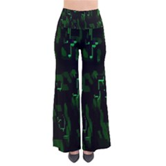 Abstract Art Background Green Pants