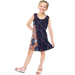 Building Architecture Skyscraper Kids  Tunic Dress