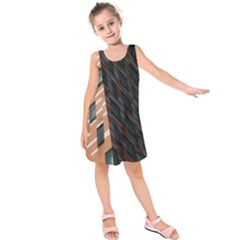 Building Architecture Skyscraper Kids  Sleeveless Dress