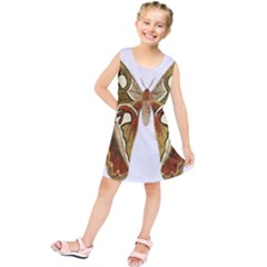 Butterfly Animal Insect  Kids  Tunic Dress