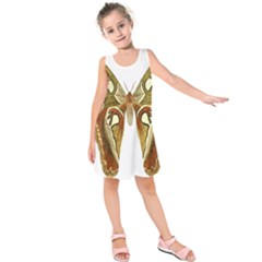 Butterfly Animal Insect  Kids  Sleeveless Dress