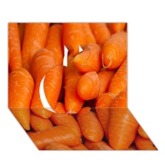 Carrots Vegetables Market Apple 3D Greeting Card (7x5)