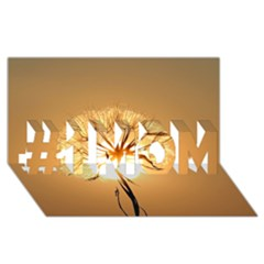 Dandelion Sun Dew Water Plants #1 MOM 3D Greeting Cards (8x4)