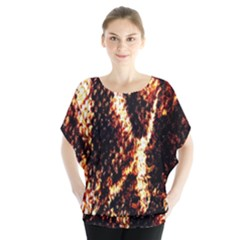 Fabric Yikes Texture Blouse