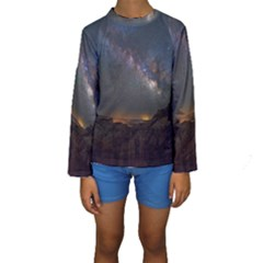 Fairyland Canyon Utah Park Kids  Long Sleeve Swimwear