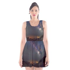 Fairyland Canyon Utah Park Scoop Neck Skater Dress