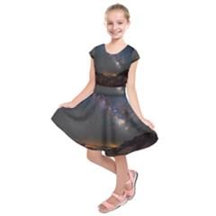 Fairyland Canyon Utah Park Kids  Short Sleeve Dress