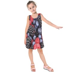 Forest Fruit Kids  Sleeveless Dress