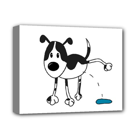 My cute dog Deluxe Canvas 14  x 11