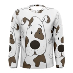 Cute dog Men s Long Sleeve Tee