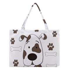 Cute Dog Medium Tote Bag