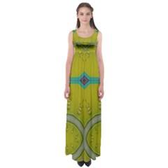 Annabellerockz, green bells Empire Waist Maxi Dress
