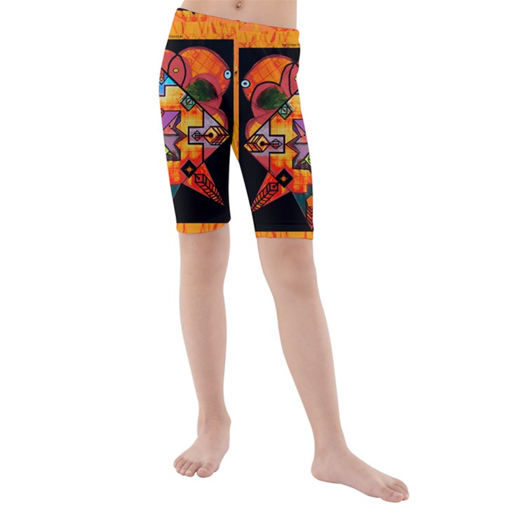 Clothing (20)6k,kk Kids  Mid Length Swim Shorts