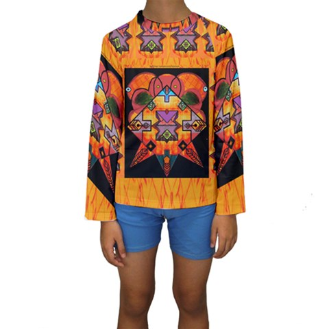 Clothing (20)6k,kk Kids  Long Sleeve Swimwear