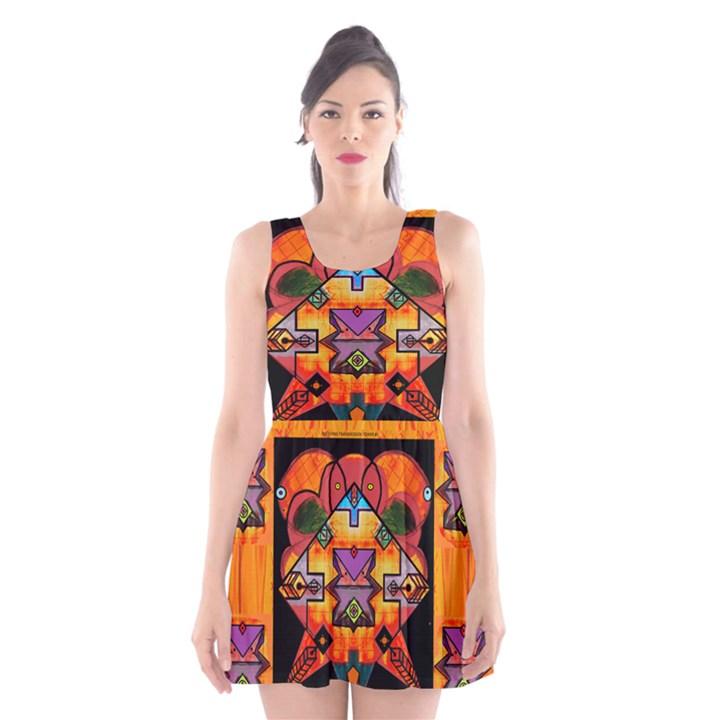 Clothing (20)6k,kk Scoop Neck Skater Dress