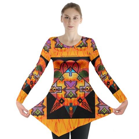 Clothing (20)6k,kk Long Sleeve Tunic