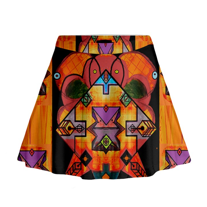 Clothing (20)6k,kk Mini Flare Skirt