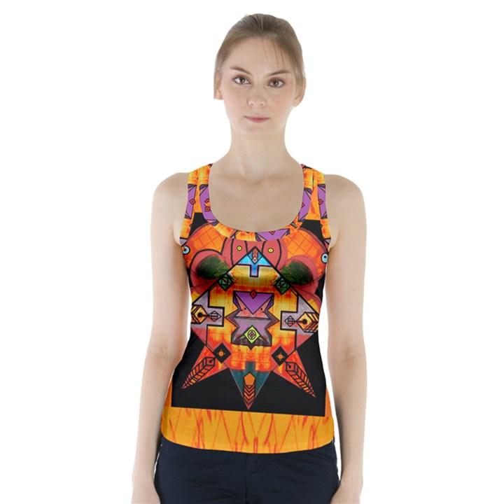 Clothing (20)6k,kk Racer Back Sports Top