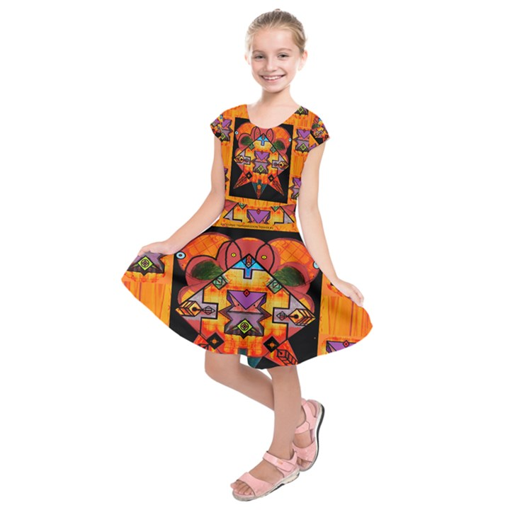 Clothing (20)6k,kk Kids  Short Sleeve Dress