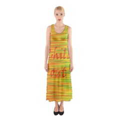 Chill out Sleeveless Maxi Dress