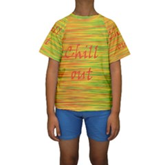 Chill out Kids  Short Sleeve Swimwear