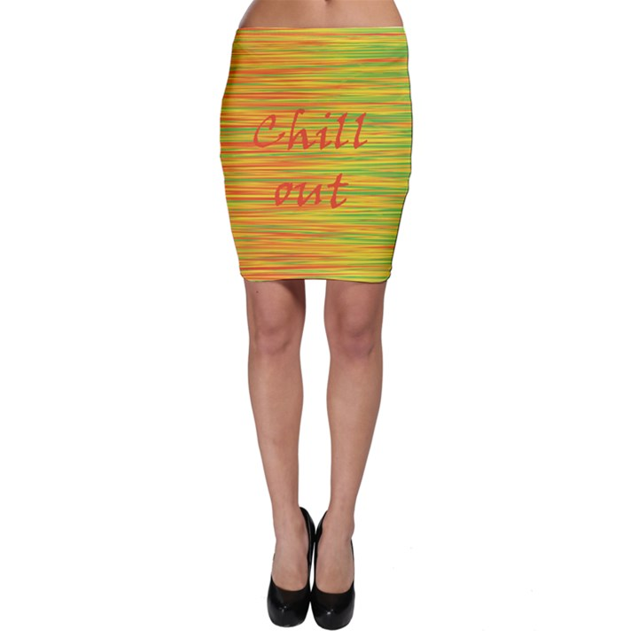Chill out Bodycon Skirt