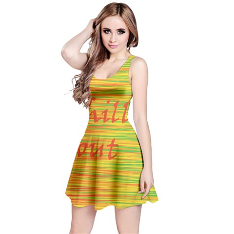 Chill out Reversible Sleeveless Dress