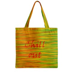 Chill Out Grocery Tote Bag