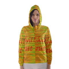 Chill Out Hooded Wind Breaker (women)