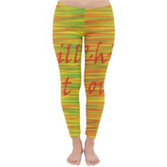 Chill Out Winter Leggings
