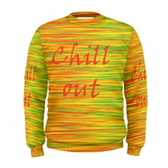 Chill out Men s Sweatshirt
