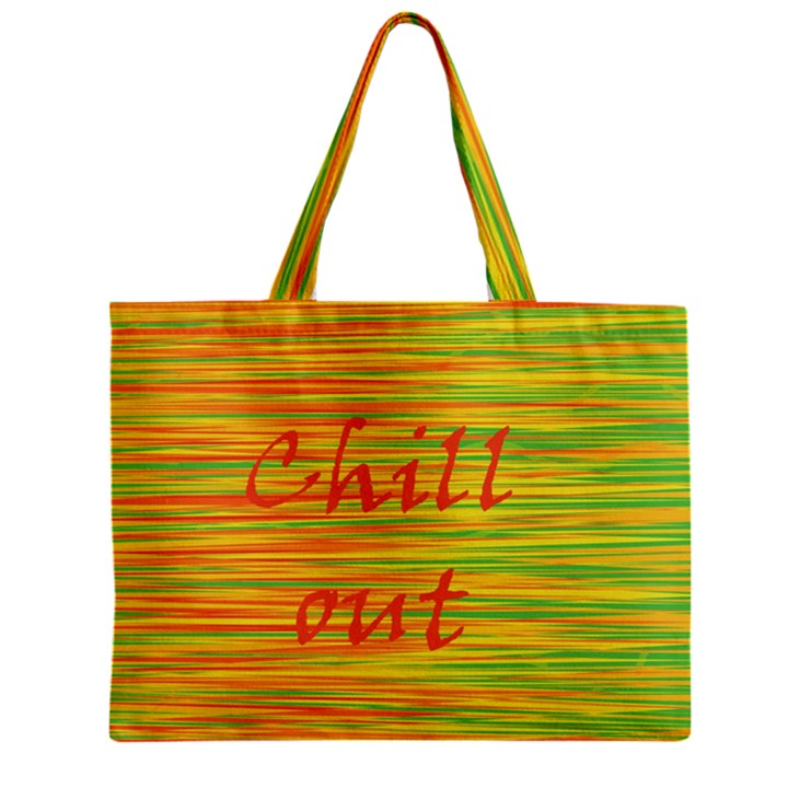 Chill out Zipper Mini Tote Bag