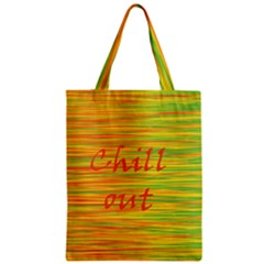 Chill Out Zipper Classic Tote Bag