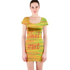 Chill out Short Sleeve Bodycon Dress