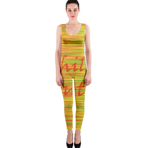 Chill out OnePiece Catsuit
