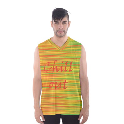 Chill out Men s Basketball Tank Top