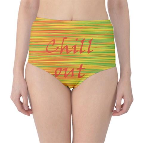 Chill out High-Waist Bikini Bottoms