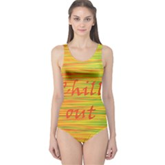 Chill out One Piece Swimsuit