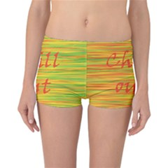 Chill Out Reversible Boyleg Bikini Bottoms
