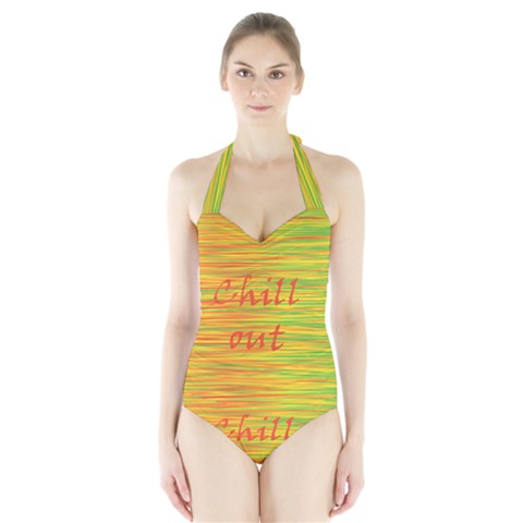 Chill out Halter Swimsuit