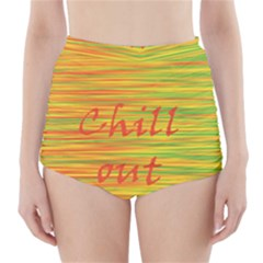 Chill out High-Waisted Bikini Bottoms