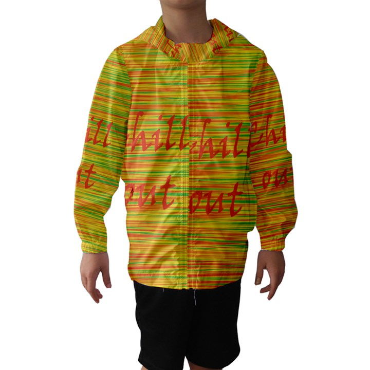 Chill out Hooded Wind Breaker (Kids)