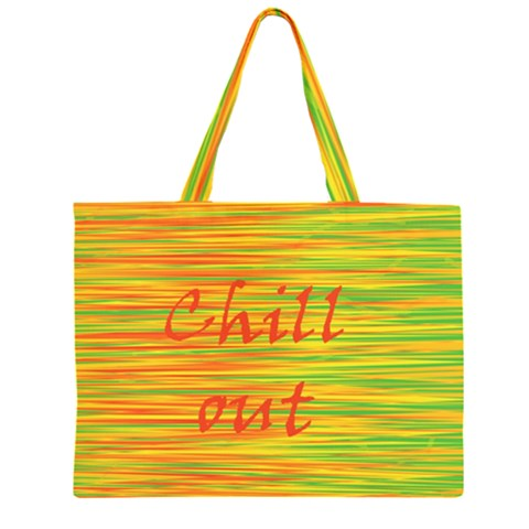Chill out Large Tote Bag