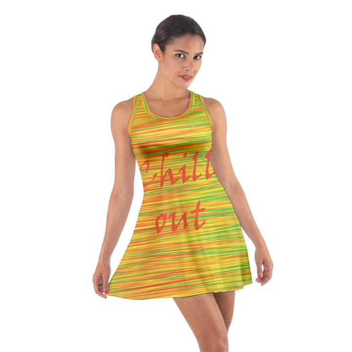 Chill out Cotton Racerback Dress