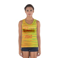 Chill out Women s Sport Tank Top