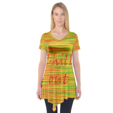 Chill out Short Sleeve Tunic