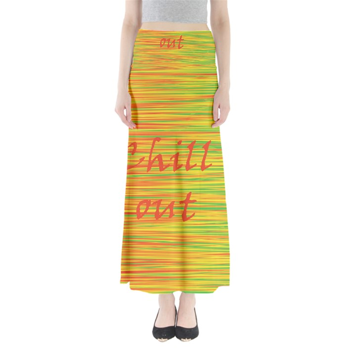 Chill out Maxi Skirts