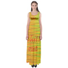 Chill Out Empire Waist Maxi Dress