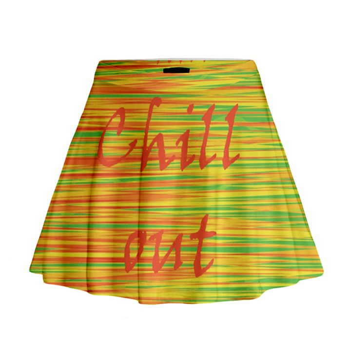 Chill out Mini Flare Skirt