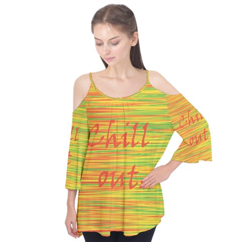 Chill out Flutter Tees